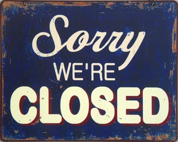 Las instalaciones permanecerán cerradas del 6 al 10 de Diciembre