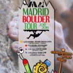 YA PUEDES INSCRIBIRTE PARA MADRID BOULDER TOUR 2018/2019