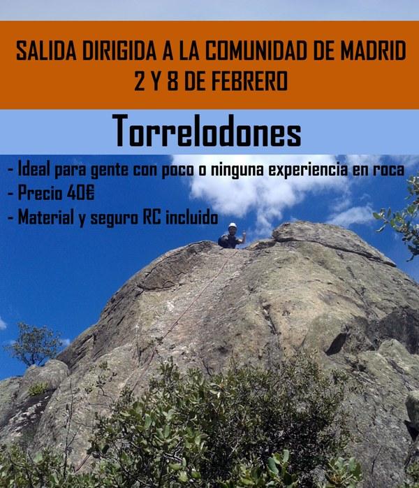 SALIDA DIRIGIDA DE ESCALADA LOS PRÓXIMOS 2 Y 8 DE FEBRERO